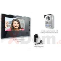 SOMFY Wideodomofon V400 z monitorem w kolorze czarnym, model 2401295