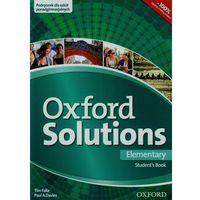 Książki do nauki języka, Oxford Solutions Elementary Student's Book (opr. miękka)