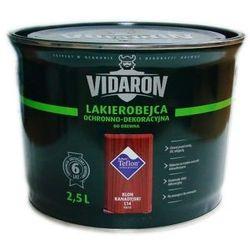 Vidaron - Lakierobejca ochronno-dekoracyjna do drewna 2.5l