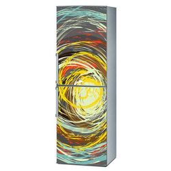 Mata magnetyczna na lodówkę - Kolorowe okręgi 4157