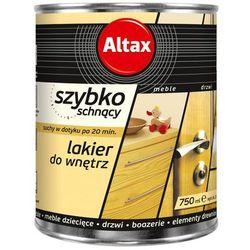 Lakier szybkoschnący Altax bezbarwny półmat 0,75 l