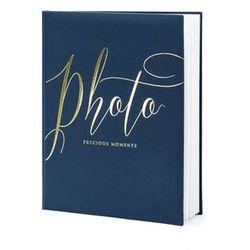 Album na zdjęcia Photo Precious moments granatowy - 22 kartki