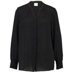 Selected Femme SLFDAMINA DOT LS SHIRT Koszula black/snow white dots
