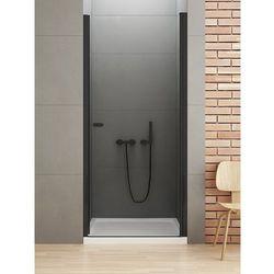 Drzwi prysznicowe 80 cm D-0210A New Soleo Black New Trendy