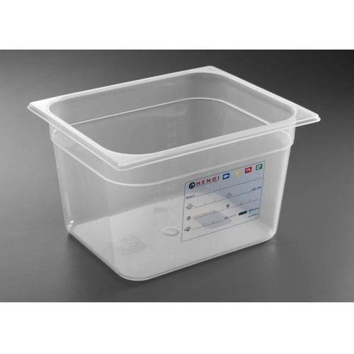 Kosze i pojemniki gastronomiczne, Hendi Pojemnik GN 1/2 HACCP   wys. 100 - 200mm - kod Product ID