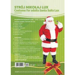Strój Mikołaj Lux XL/XXL 8 elementów