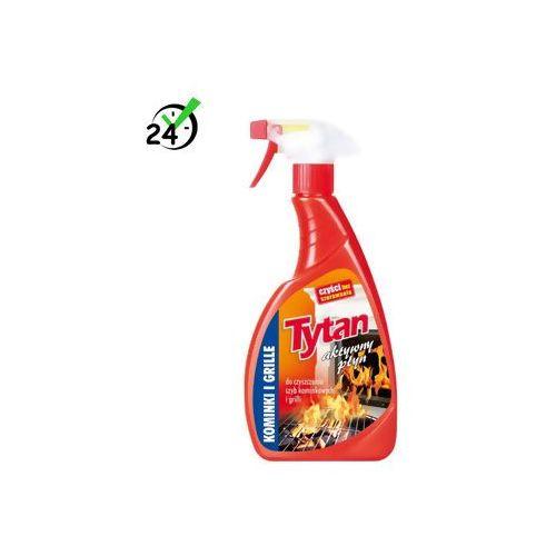 Środki do okien, Tytan aktywny płyn do czyszczenia szyb kominkowych i grillów (500g) ✔SKLEP SPECJALISTYCZNY ✔KARTA 0ZŁ ✔POBRANIE 0ZŁ ✔ZWROT 30DNI ✔RATY 0% ✔GWARANCJA D2D ✔LEASING ✔WEJDŹ I KUP NAJTANIEJ