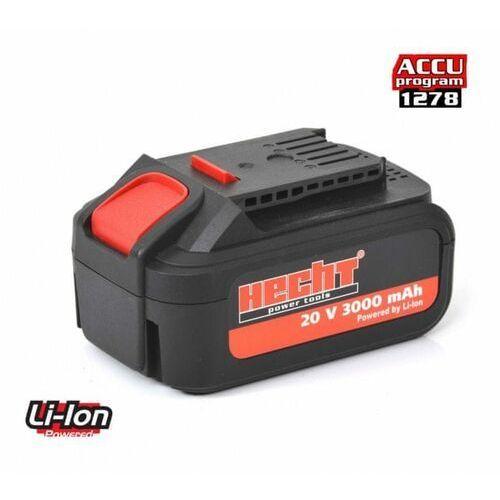 Ładowarki i akumulatory, Hecht akumulator 001278B 20V Li/3Ah