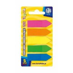 Zakładki indeksujące Astra 5 kolorów