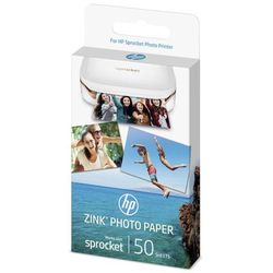 HP samoprzylepny papier fotograficzny ZINK Sprocket (1DE37A)