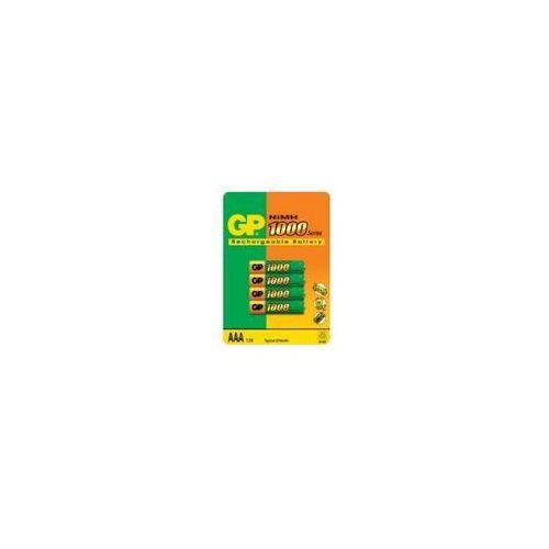 Akumulatorki, Akumulatory GP ReCyko+ 100AAAHCN-GB4 950 mAh