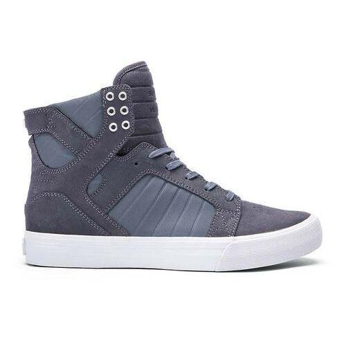 Męskie obuwie sportowe, buty SUPRA - Skytop Hf Magnet-Grey (MGT) rozmiar: 44.5