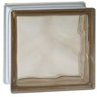 Cegły i pustaki, Pustak szklany Seves barwiony w masie brązowy