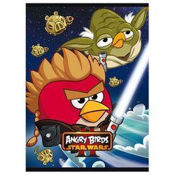 Zeszyt szkolny Unipap Angry Birds Star Wars II A5/16k. 90374 pojedyncza linia