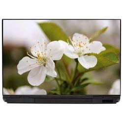 Naklejka na laptopa kwiat jabłoni 0068
