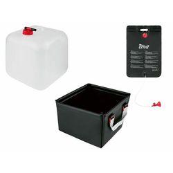 CRIVIT PRO® Prysznic kempingowy / Składany kanister