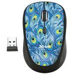 Mysz bezprzewodowa Trust Yvi Wireless Peacock Pawie oko