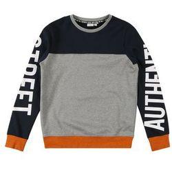 NAME IT Bluza niebieski / szary / pomarańczowy