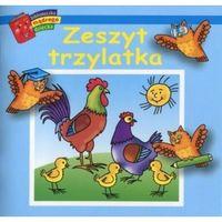 Książki dla dzieci, Bibl. mądrego dziecka - zeszyt trzylatka (opr. broszurowa)