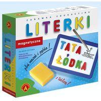 Kreatywne dla dzieci, Alexander, Literki magnetyczne z tablicą, zestaw edukacyjny