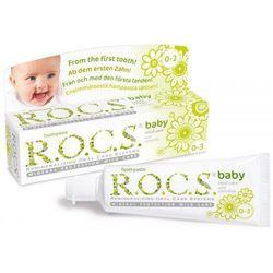 R.O.C.S. Baby Camomile pasta do zębów dla dzieci 35 ml