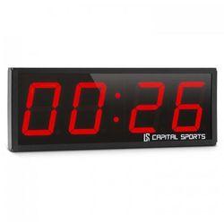 Timer 4 Czasomierz sportowy Stoper Tabata Sekundomierz Cross-Training 4-cyfrowy Sygnał