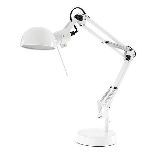 Lampki biurkowe, Lampka biurkowa Colours Droide 1 x 40 W E14 biała
