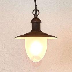 Nostalgiczna lampa wisząca Cottage zewnętrzna