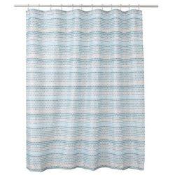 Zasłonka prysznicowa Amariada 180 x 200 cm niebieska