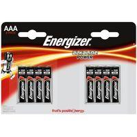 Baterie, 8 x bateria alkaliczna Energizer Alkaline Power LR03/AAA (blister)