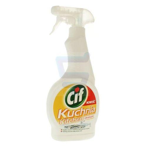 Płyny i żele do czyszczenia armatury, Środek do czyszczenia kuchnia Cif spray 500 ml