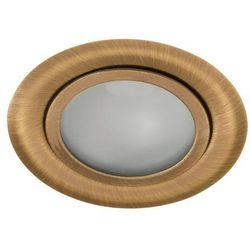 Kanlux Gavi CT-2116B-BR/M 00814 oczko lampa sufitowa wpuszczana downlight 1x20W G4 mosiądz mat