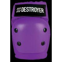 Ochraniacze na ciało, ochraniacze na łokcie DESTROYER - Rec Elbow Purple (PRP) rozmiar: L