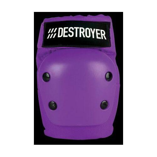 Ochraniacze na ciało, ochraniacze na łokcie DESTROYER - Rec Elbow Purple (PRP)