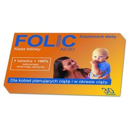 FOLIC 30 tabletek