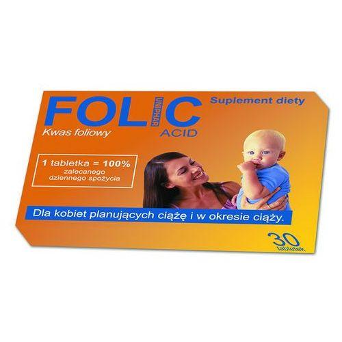 Suplementy ciążowe, FOLIC 30 tabletek