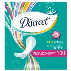 Discreet Waterlily Multiform Oddychające wkładki higieniczne 100 sztuk