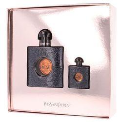 Yves Saint Laurent Black Opium zestaw Edp 50ml + 7,5ml Edp dla kobiet