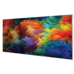 Panel Szklany Kolorowe fraktale 3d