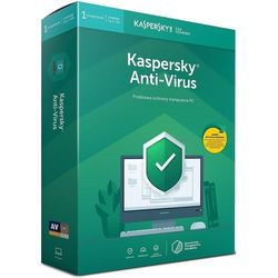 Licencja BOX Kaspersky Anti-Virus 2019 Polish Edition 1-Desktop 1 year + METAL POSTER