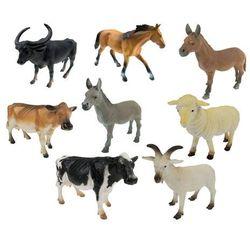 Zwierzęta domowe duże - zestaw 8 sztuk 281