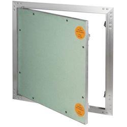 Klapa rewizyjna aluminiowa Diall z płytą g-k 50 x 50 cm
