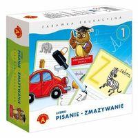 Pozostałe zabawki edukacyjne, ALEX LITERKI PISANIE ZMAZYWANIE 1-ALEX