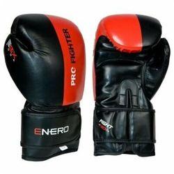 Rękawice bokserskie ENERO Pro Fighter (rozmiar 12oz) Czarno-czerwony
