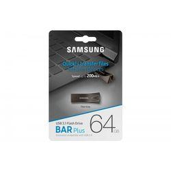 Samsung BAR Plus USB3.1 64 GB Titan Gray