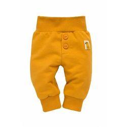 Spodnie niemowlęce żółte Nice Day 6M38AW Oferta ważna tylko do 2031-05-21