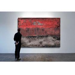 Czerwona eksplozja - Modny obraz na ścianę | obrazy do salonu rabat 10%