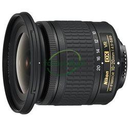 NIKON NIKKOR AF-P DX 10-20mm f/4.5-5.6G VR CASHBACK zwrot od NIKON 215 ZŁ