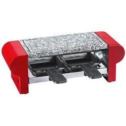 Küchenprofi Hot Stone Duo raclette / grill stołowy, dla 2 osób, czerwony