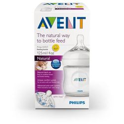 Philips AVENT Klasyczna butelka NATURAL 125 ml 1 sztuka
